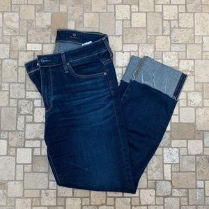Ag Adriano Goldschmied Jeans - AG High-Rise Stevie Cuff